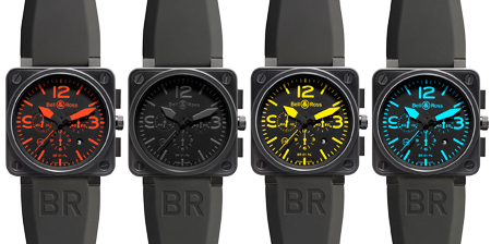 Bell And Ross Yellow Face