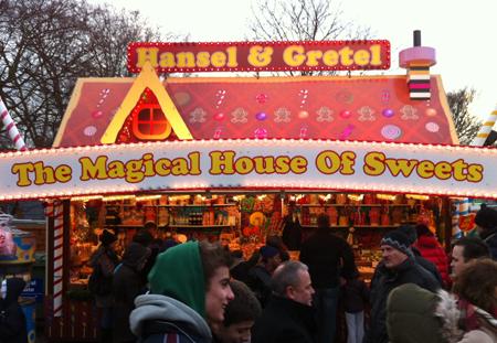 Q&H go to Winter Wonderland
