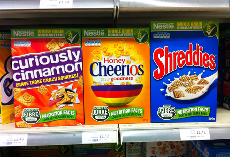 Cereal Partners on-pack flash